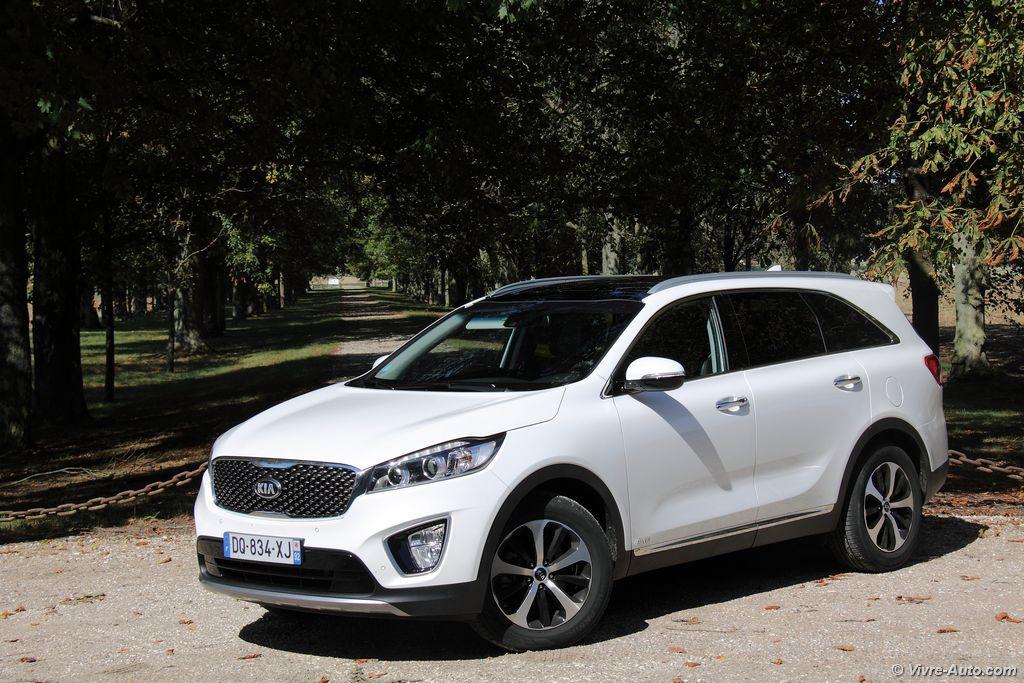 Lire l'article «Essai Kia Sorento 2,2l CRDi 200 BVA, un SUV familial visant le premium»