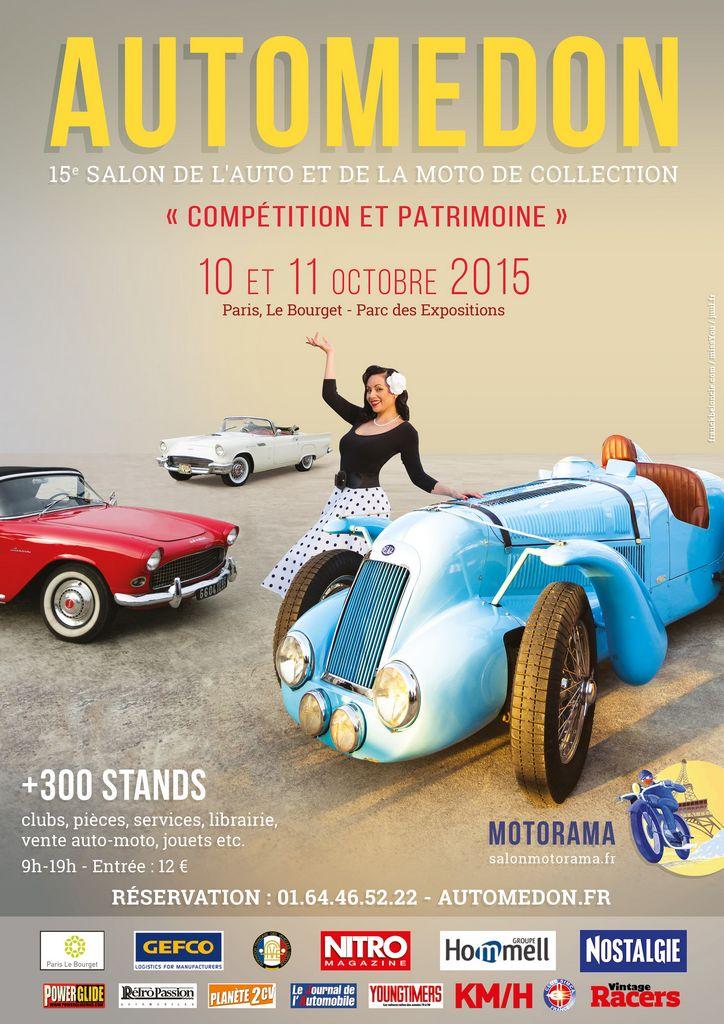 Lire l'article «Le salon Automédon 2015 ouvrira ses portes les 10 et 11 octobre»