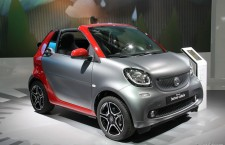 La Smart Fortwo Cabriolet en photos à Francfort