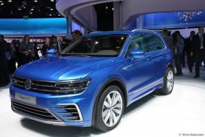 Volkswagen Tiguan IAA 2015 - Vivre-Auto