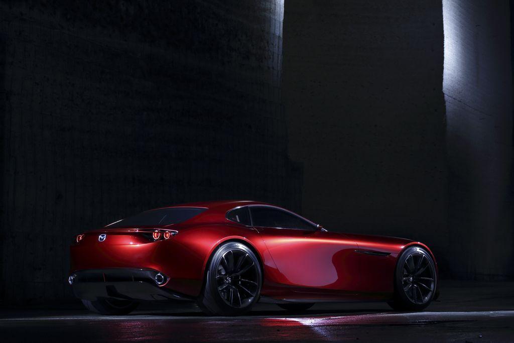 Lire l'article «Mazda RX-Vision, le retour du moteur rotatif»