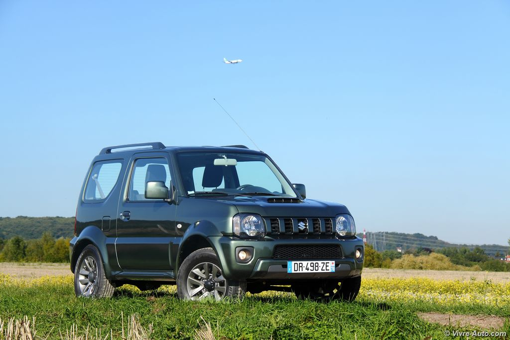 essai suzuki jimny 1 3 vvt toujours pr sent l 39 appel. Black Bedroom Furniture Sets. Home Design Ideas