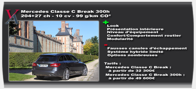 Essai Mercedes Classe C Break - Vivre-Auto
