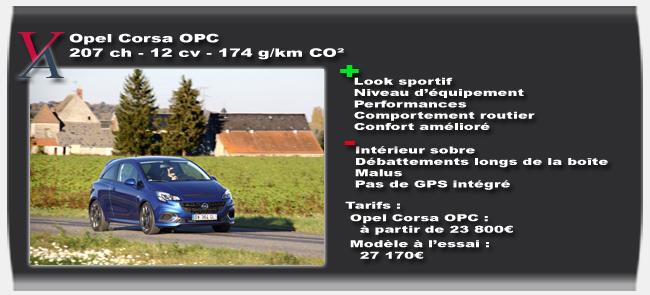 Essai Opel Corsa OPC - Vivre-Auto
