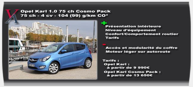 Essai Opel Karl - Vivre-Auto