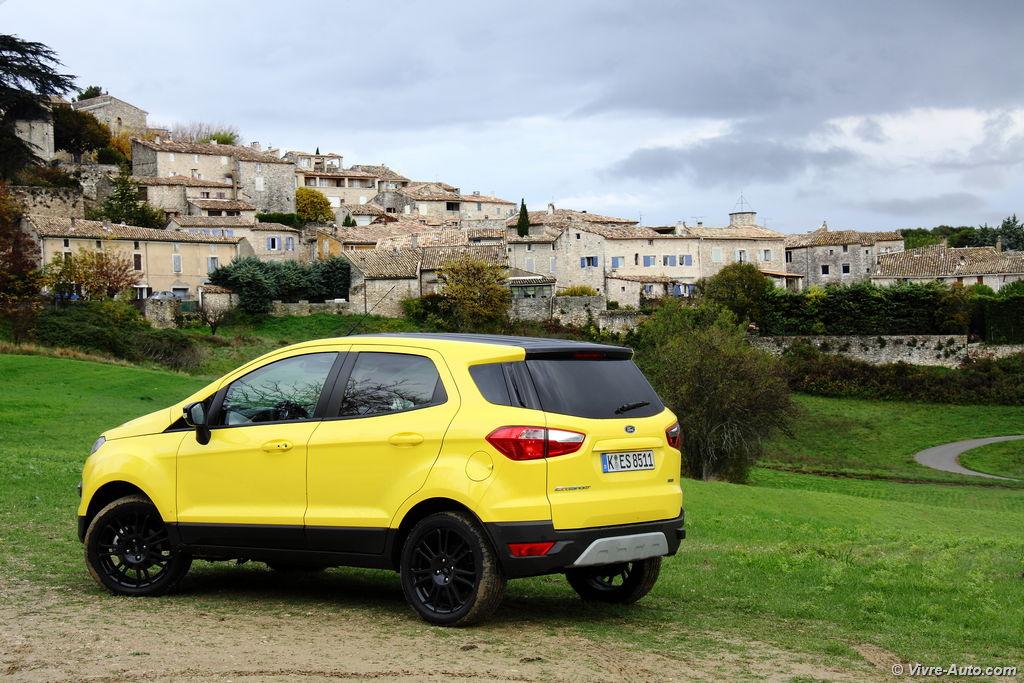 Lire l'article «Essai Ford Ecosport 2016, il s'européanise»