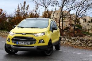 Ford Ecosport 2015 - essai Vivre-Auto