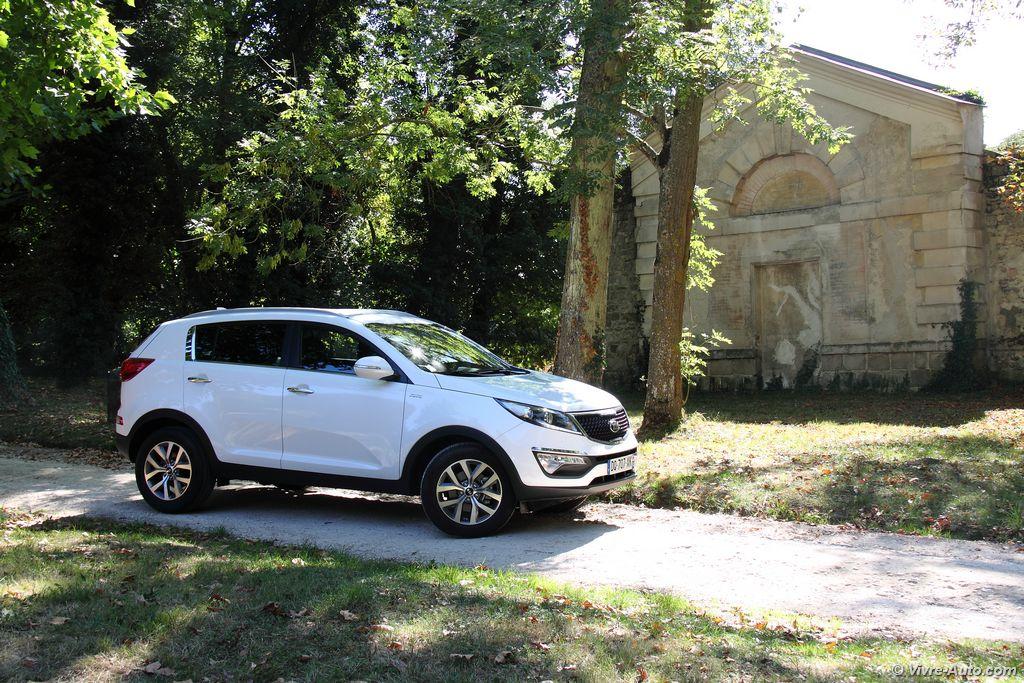 Lire l'article «Essai Kia Sportage CRDi 136 AWD, léger restylage pour une star»