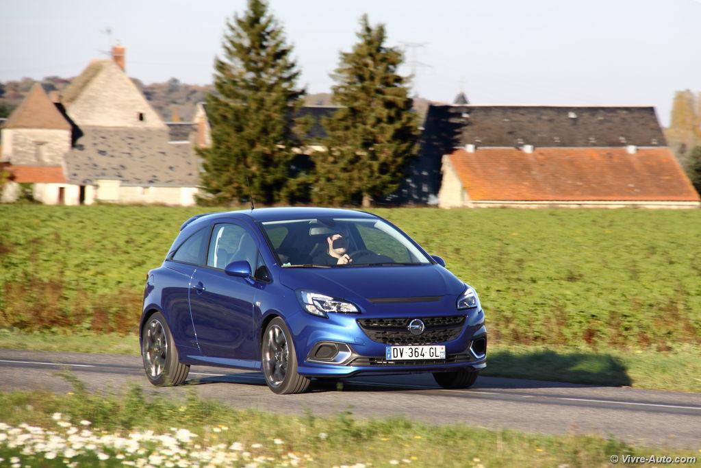 Lire l'article «Essai Opel Corsa OPC, rapide comme l'éclair»