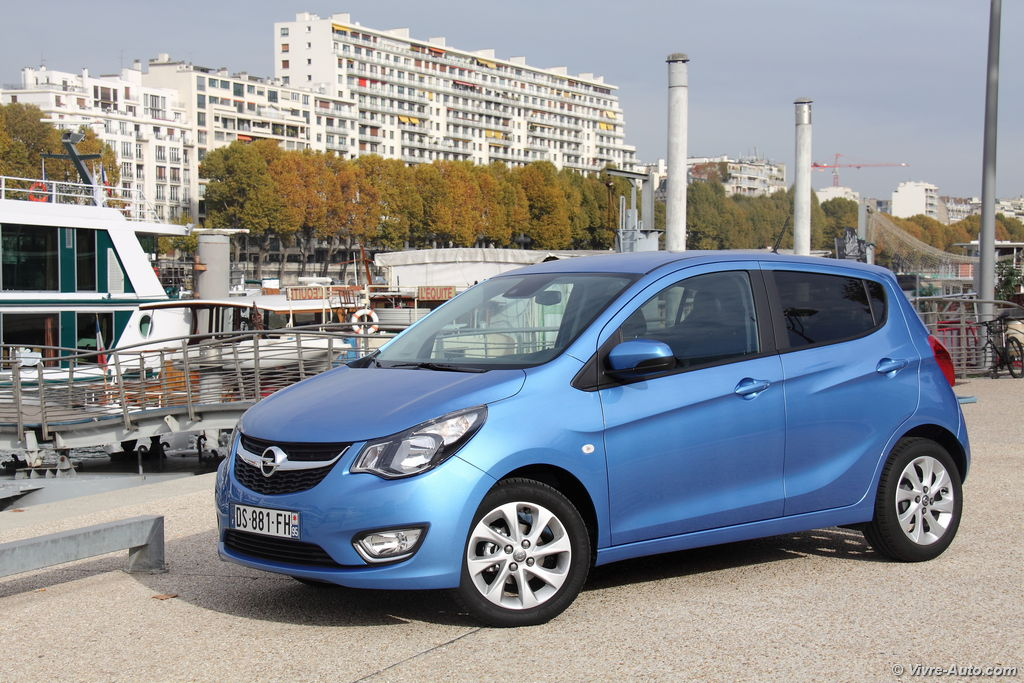 Lire l'article « Essai Opel Karl, simple mais efficace »