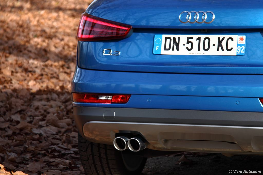 Lire l'article «Essai Audi Q3 TDi 184 Quattro, toujours en tête !»