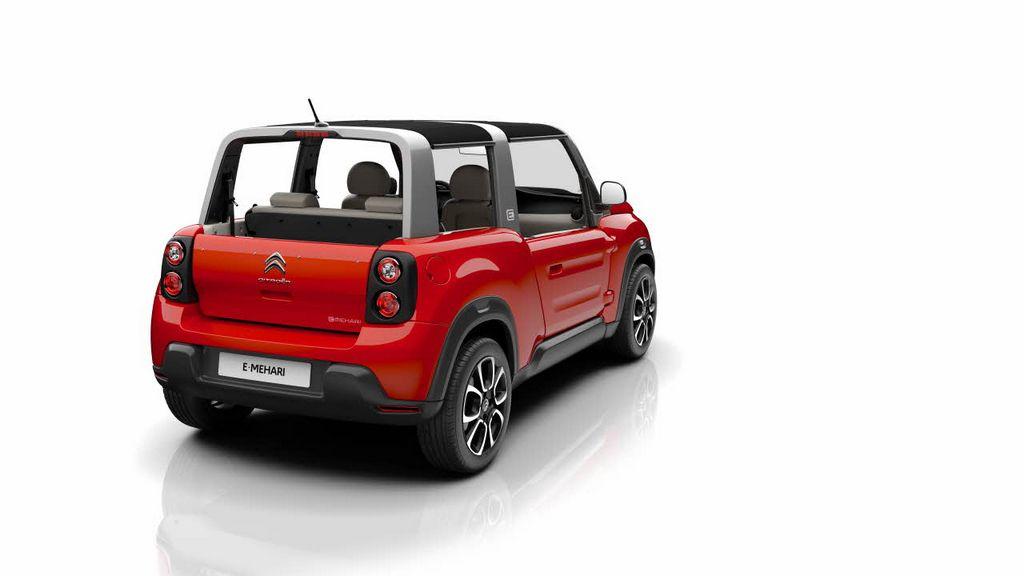 Lire l'article «Citroën e-Méhari, fun et branchée»