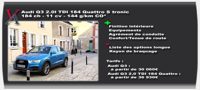 Essai Audi Q3 2015