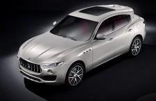 Les premières photos du Maserati Levante