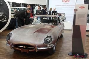 Jaguar Type E Série 1 3.8l 1962 - Rétromobile 2016