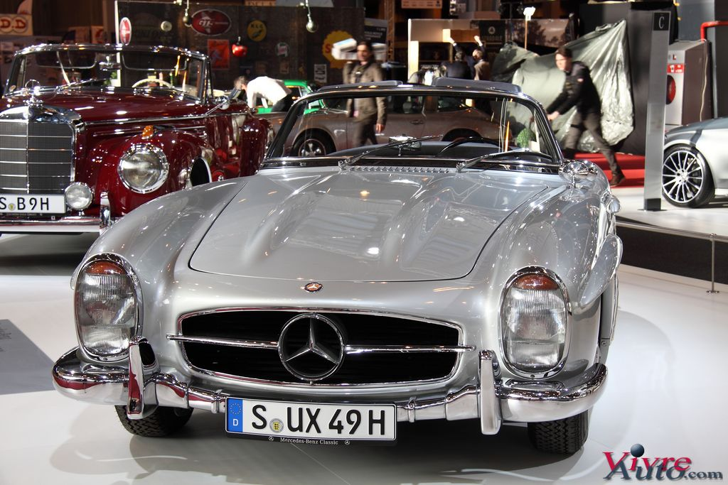 Lire l'article « Salon Rétromobile 2016 Stand Mercedes en photos »