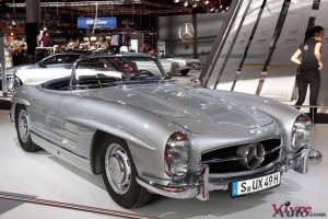 Mercedes 300 SL Roadster W198 1957 - Rétromobile 2016