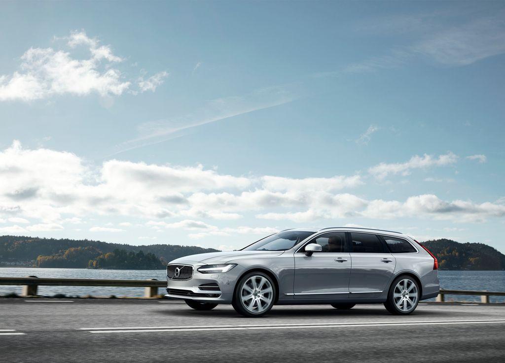 Lire l'article «Après la S90, voici le break ! Découvrez en photos le nouveau Volvo V90»