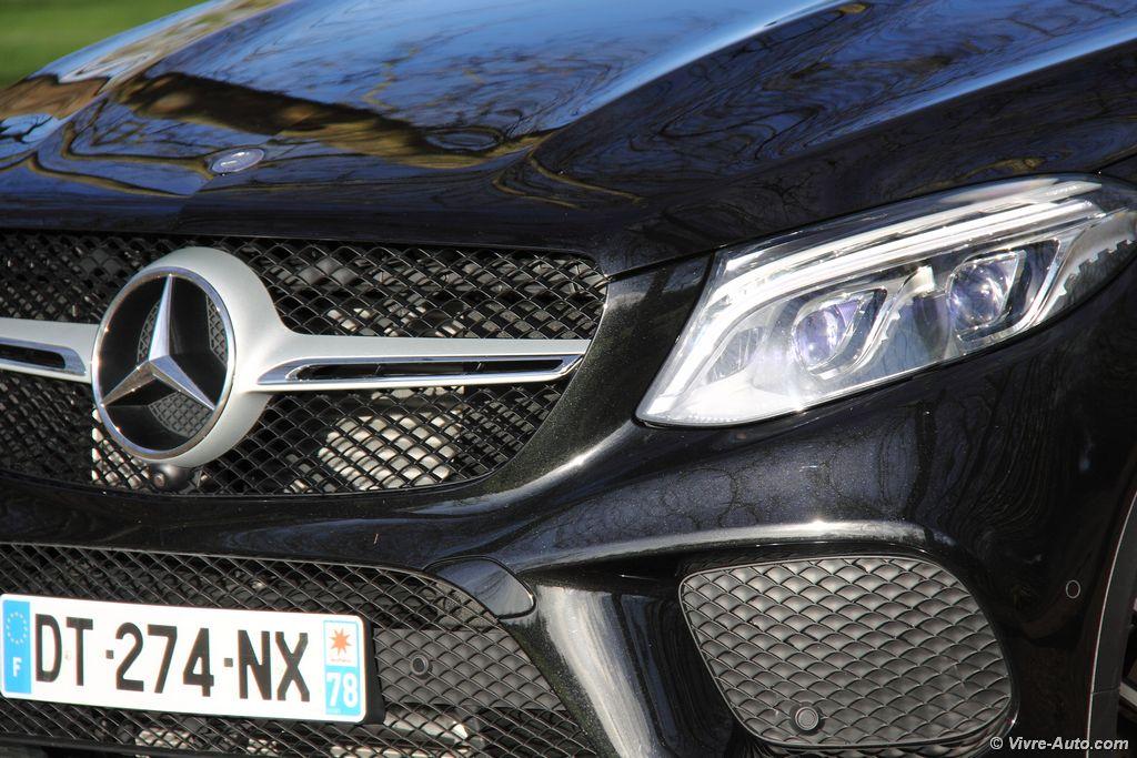 Lire l'article «Essai Mercedes GLE Coupé 350d 258 ch, le X6 étoilé !»