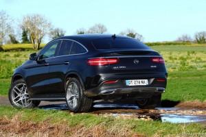 Essai Mercedes GLE Coupe