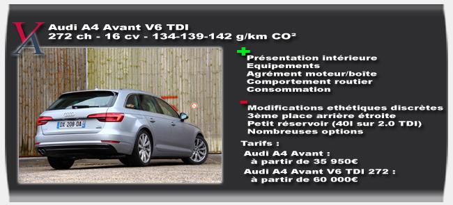 Essai Audi A4 Avant 2016