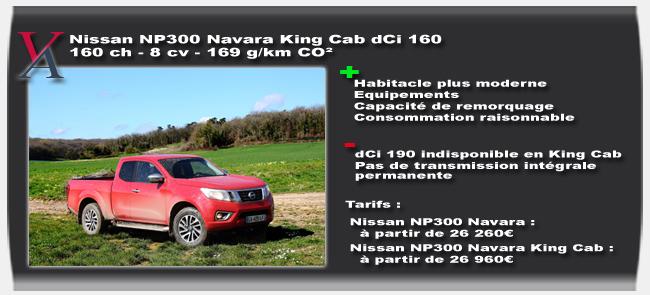 Essai Nissan NP300 Navara
