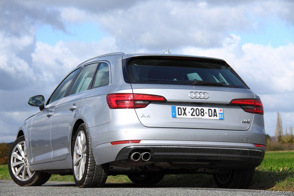 Lire l'article «Essai Audi A4 Avant V6 TDI, ne vous fiez pas aux apparences !»