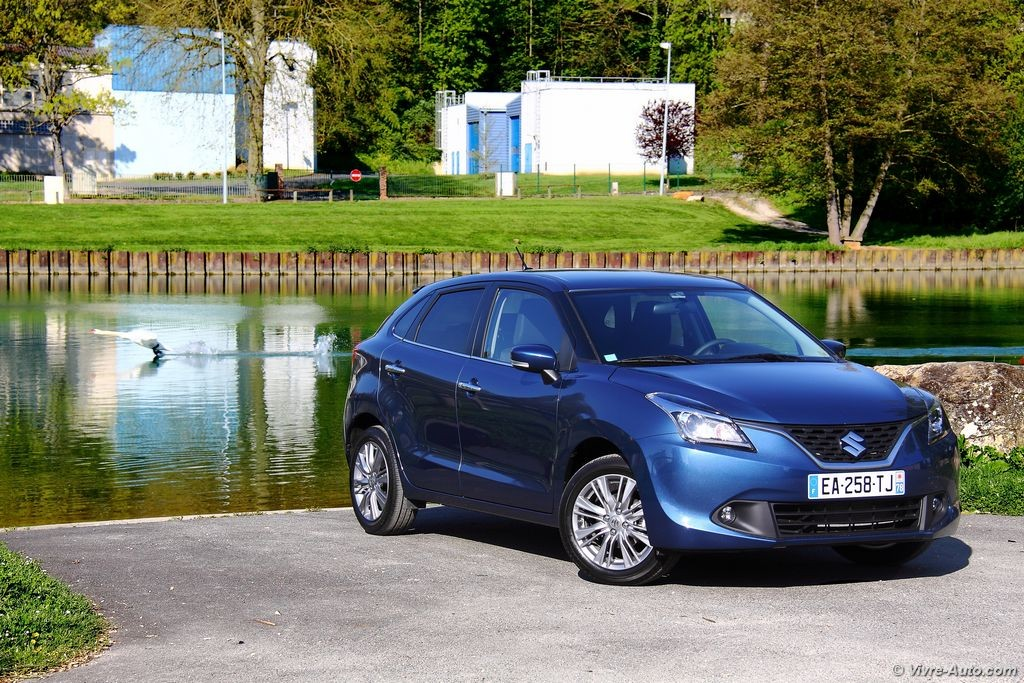 essai suzuki baleno 1 2 dualjet shvs une citadine tr s accueillante. Black Bedroom Furniture Sets. Home Design Ideas