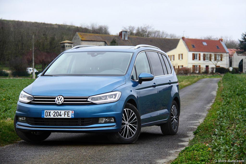 Lire l'article «Essai Volkswagen Touran 2.0 TDI 150, le Tourolf Blouge»