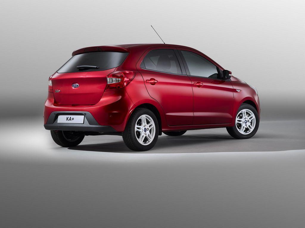Lire l'article «Nouvelle citadine Ford Ka+, à partir de 9.990€»