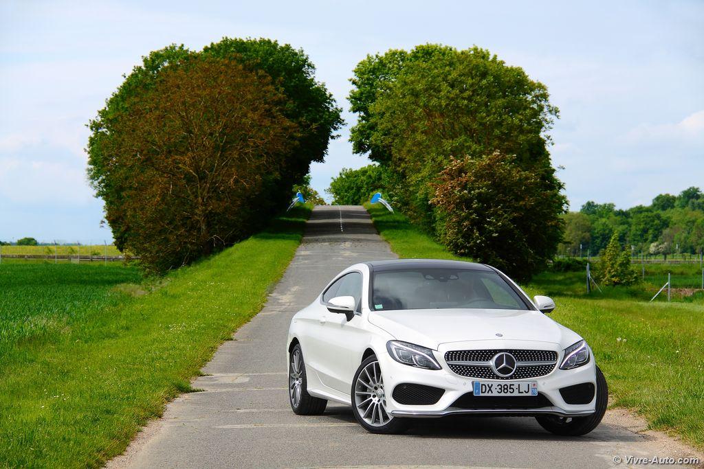 Lire l'article «Essai Mercedes Classe C Coupé 220 d, le petit frère du S Coupé»