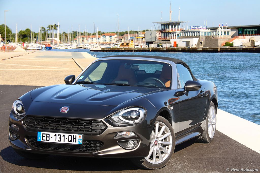 essai fiat 124 spider le roaster plaisir. Black Bedroom Furniture Sets. Home Design Ideas