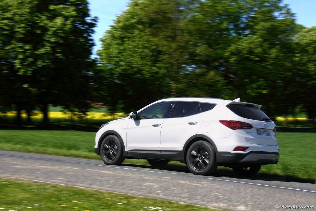 Lire l'article «Essai Hyundai Santa Fe 2.2 CRDi 200 4WD BVA»