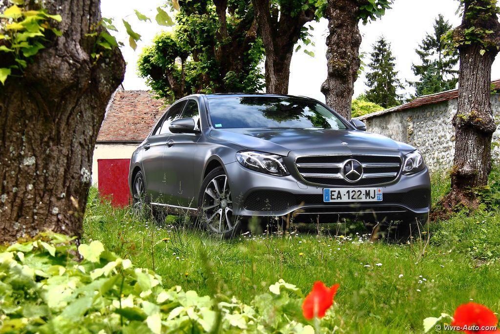 Lire l'article «Essai Mercedes Classe E 220 d, technophile mais conservatrice !»