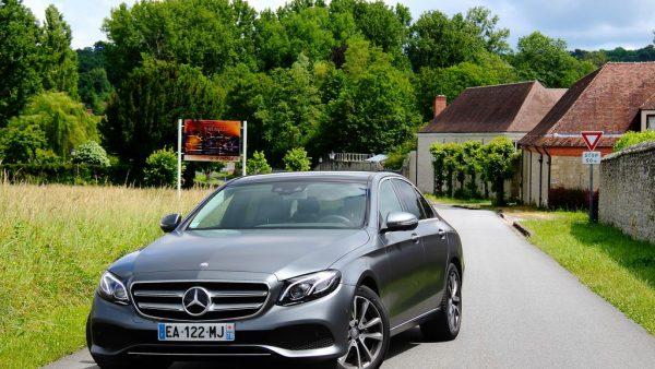 Essai Mercedes Classe E 220 d, technophile mais conservatrice !