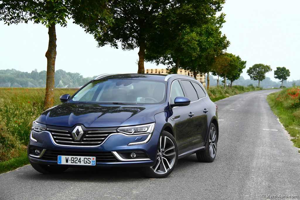 Lire l'article « Essai Renault Talisman Estate dCi 130 EDC, un break astucieux »