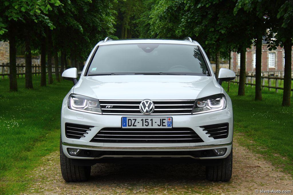 Lire l'article «Essai Volkswagen Touareg V6 TDI 262 ch R-Line, toujours d'actualité ?»