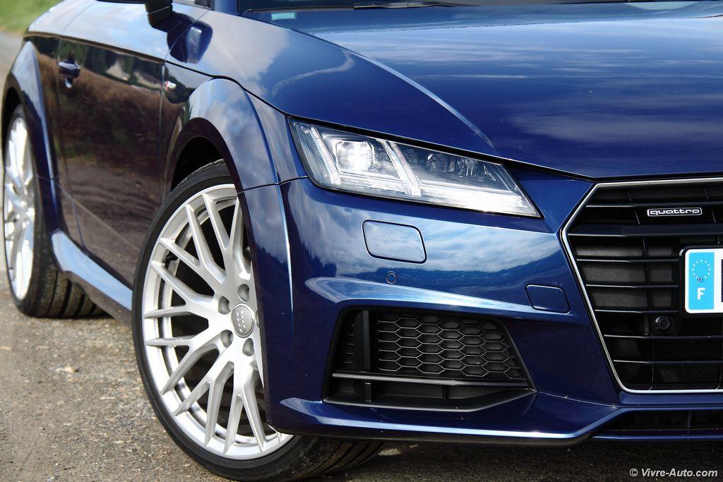 Lire l'article «Essai Audi TT 2.0 TFSI 230 Quattro S line, le coupé mythique»