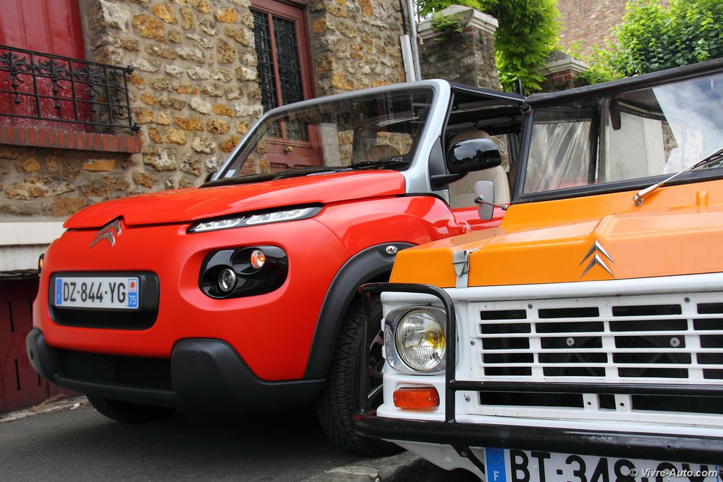 Lire l'article «Essai Citroën E-Mehari, fun mais rare !»