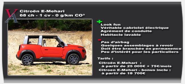 Essai Citroën E-Mehari