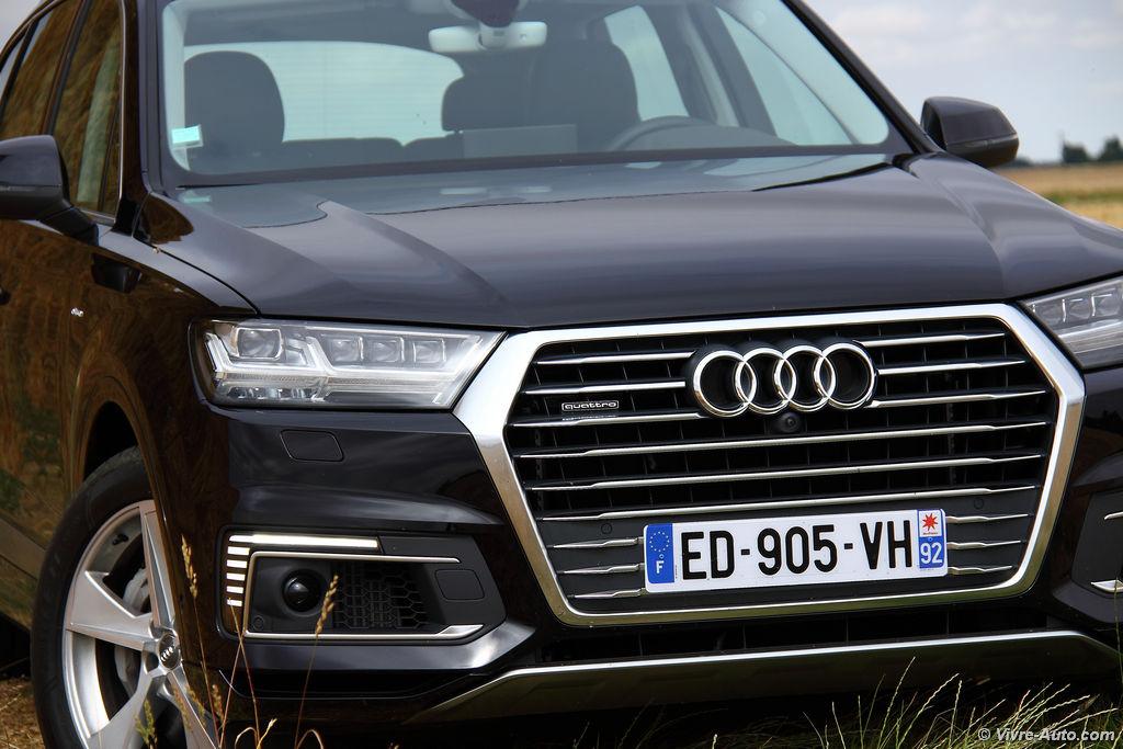 Lire l'article «Essai Audi Q7 e-tron, vitrine technologique»