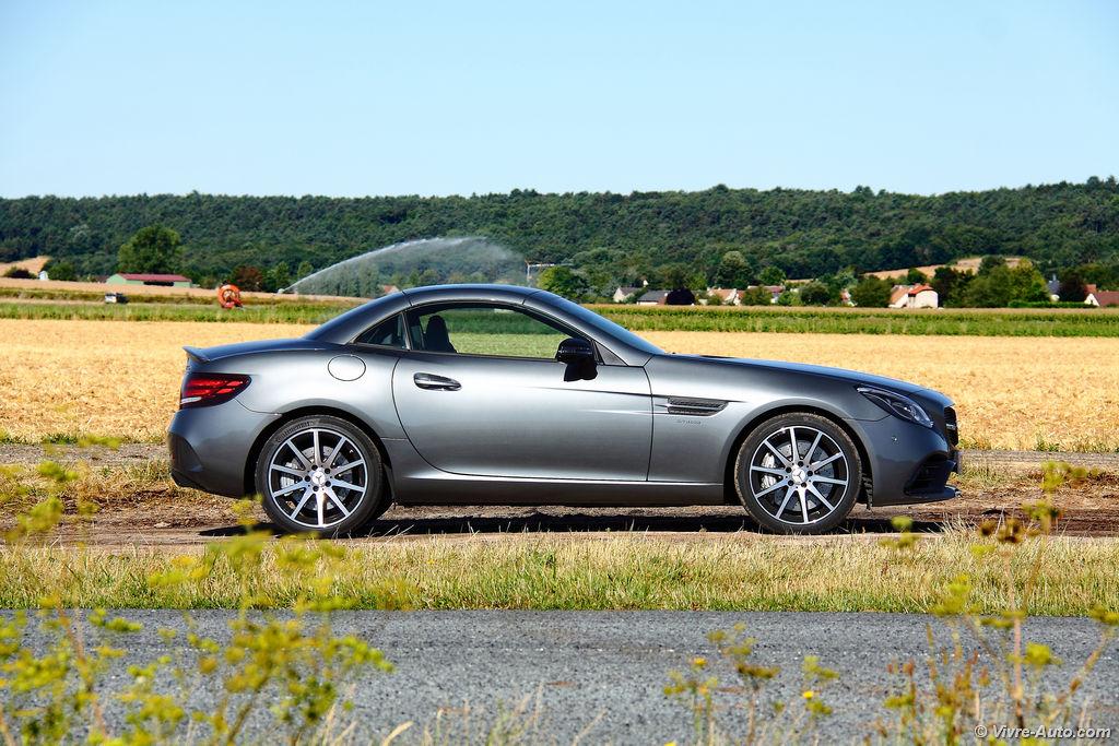Lire l'article «Essai Mercedes SLC 43 AMG, la balade ou le sport»