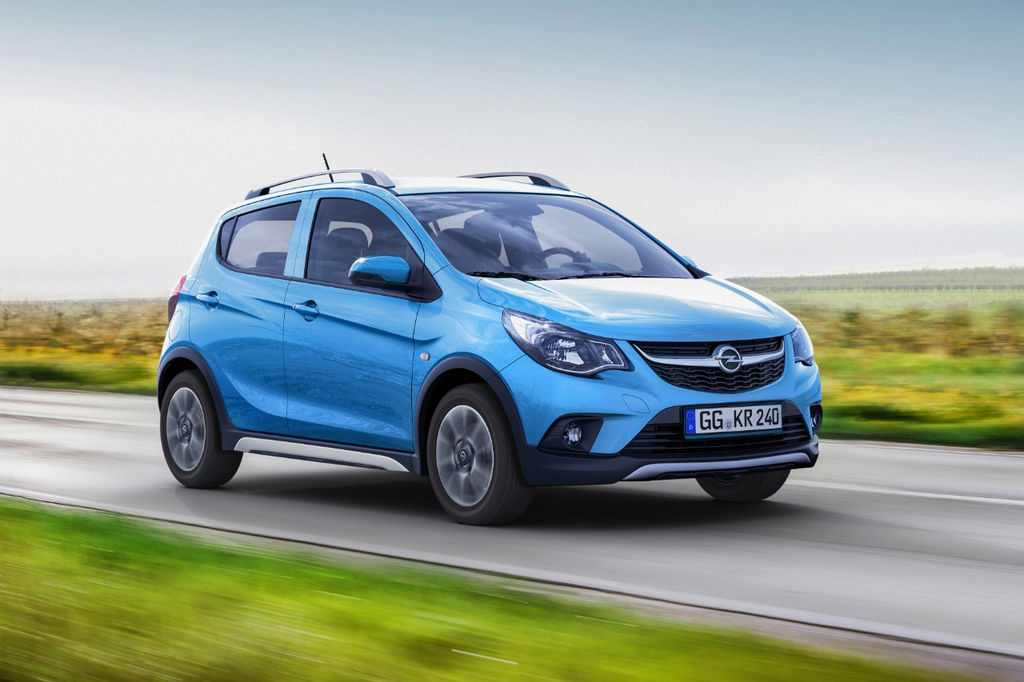 Lire l'article «Opel Karl Rocks, la citadine baroudeuse»