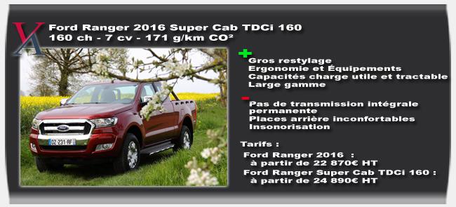 essai Ford Ranger 2016