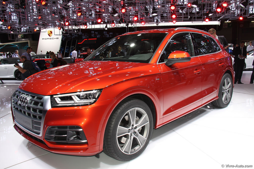 Nouveau audi q5 2017 premi re mondiale for Salon emmaus paris 2017