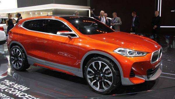 BMW X2 Concept, un avant goût du futur X2