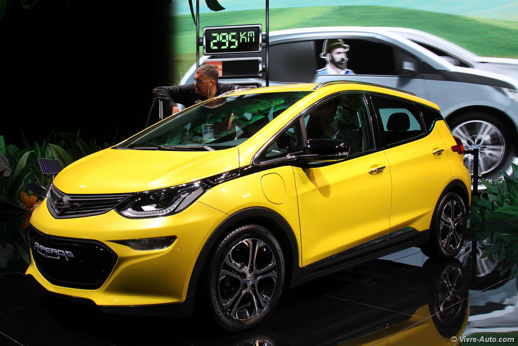 opel ampera e presque 500 km d 39 autonomie en lectrique. Black Bedroom Furniture Sets. Home Design Ideas