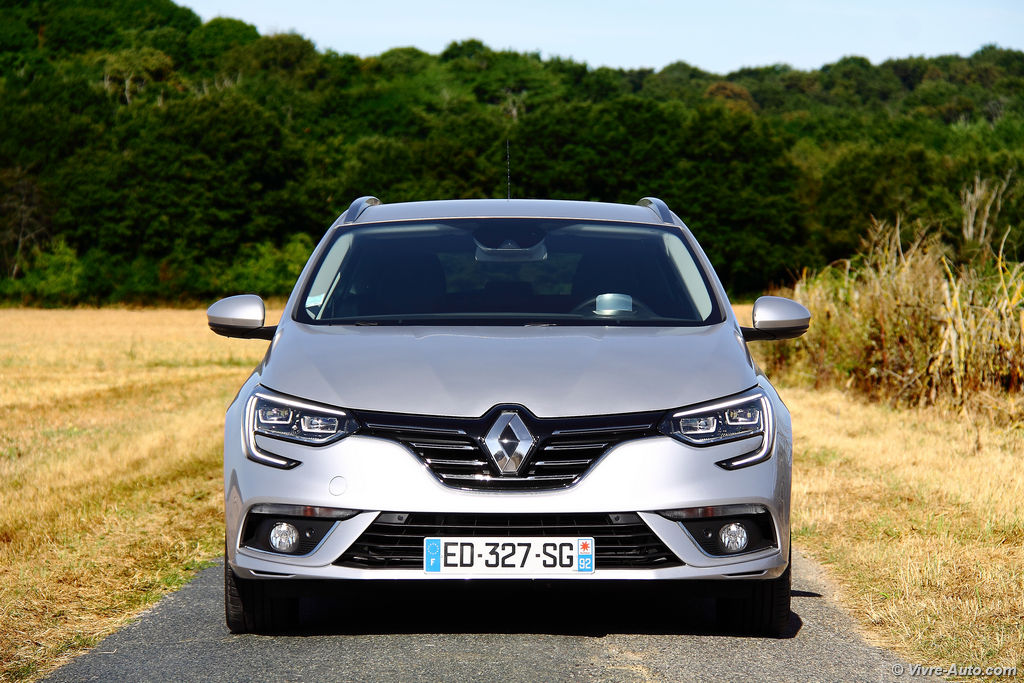 Lire l'article « Essai Renault Megane 4 Estate dCi 110 EDC »