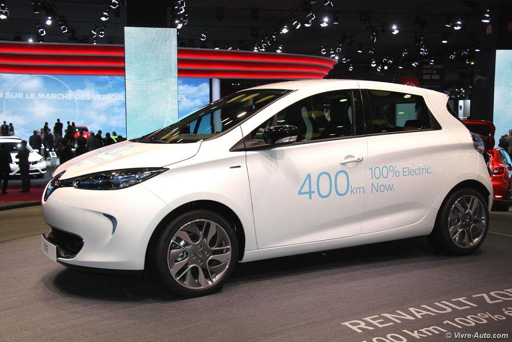 Lire l'article «Renault Zoe 2017, plus d'autonomie et nouvelles offres»