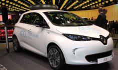 Renault Zoe 2017, plus d'autonomie et nouvelles offres